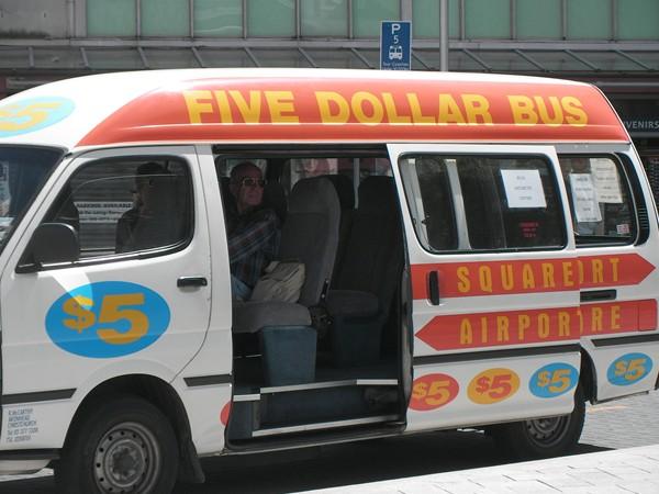 5ドルバス