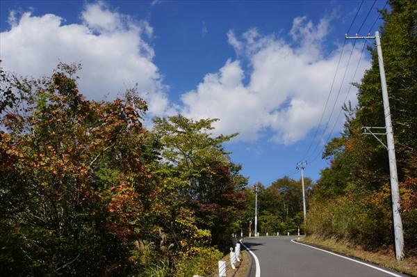 栗駒への道