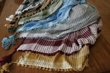スカーフ 色