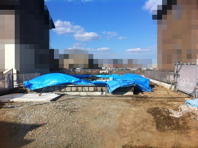 基礎工事10日目の様子