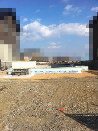 基礎工事20日目の様子