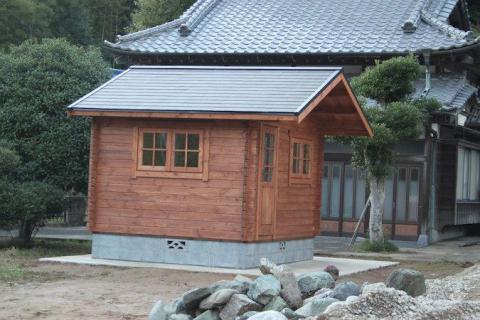 ミニログと日本家屋