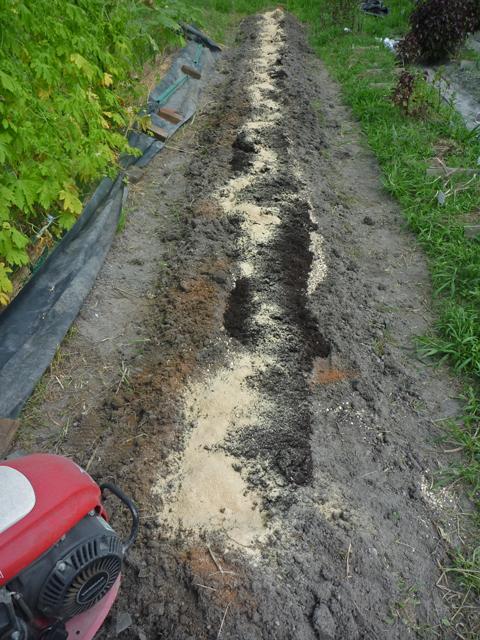 牡蠣がら・堆肥などをタップ