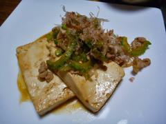 豆腐ステーキゴーヤチャンプ