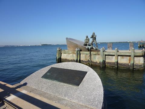 海兵隊の記念碑