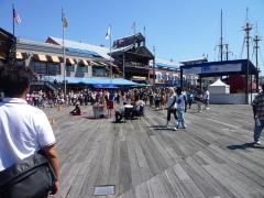 桟橋はボードウォークってい