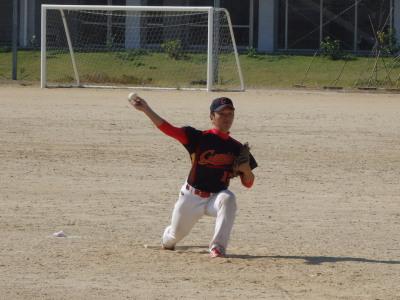 PA190116最終回登板したギャンブラー川端投手