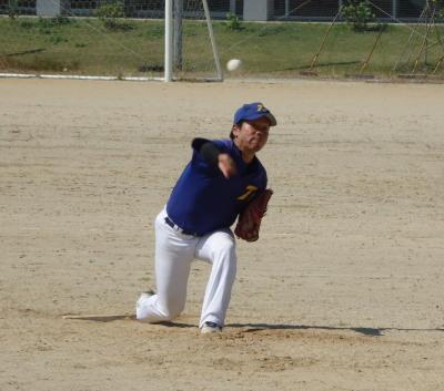 PA190067最終回登板したトップガレージ冨田投手