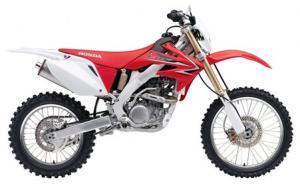 2009 CRF250X USA SPEC
