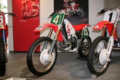 HONDA AUTOMATIC CR250