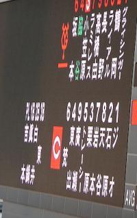 11.4.16 6 今日のスタメン