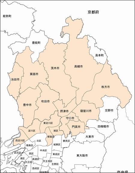 大阪 ハウスクリーニング 訪問地域