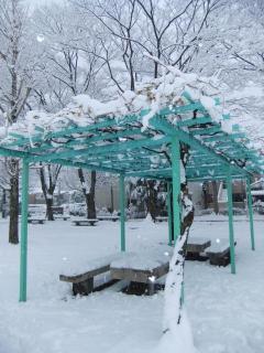 糠田児童公園の雪_02_2010-12-31