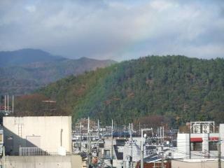 久し振りに見た虹_2010-12-09