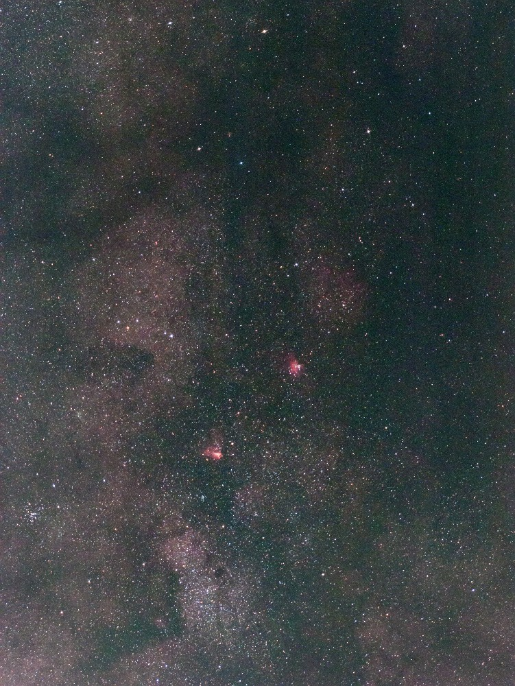 天の川銀河中心付近