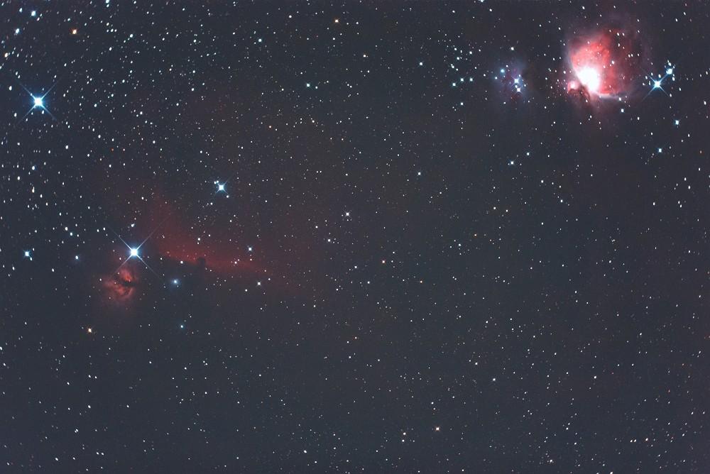 オリオン座の星野