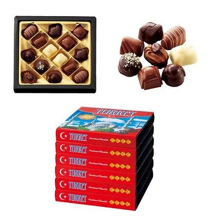 [トルコお土産]トルコ アソートチョコレート 6箱セット