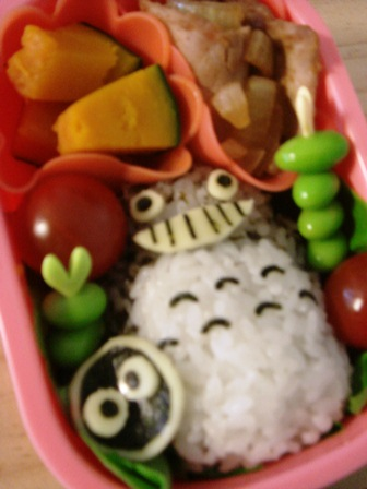トトロ弁当☆