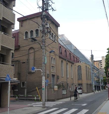 日本キリスト教団弓町本郷教会①