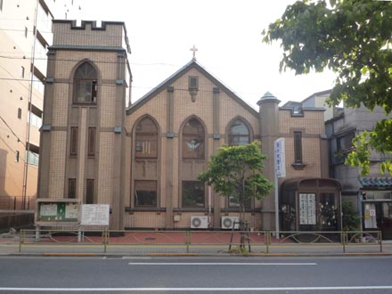 日本キリスト教団西片町教会①