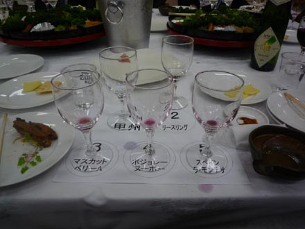 ワインの試飲会②