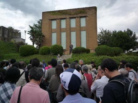 駒沢給水塔見学会①