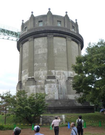 駒沢給水塔見学会⑪