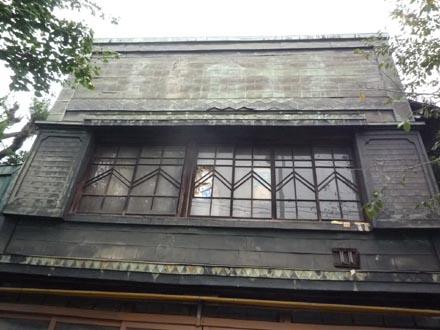 井草八幡宮前の看板建築④