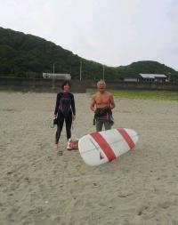 私の台風4号の波 2012-6-17 5