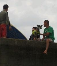 私の台風4号の波 2012-6-17 11