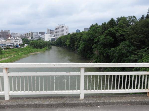 広瀬川・仲の瀬橋
