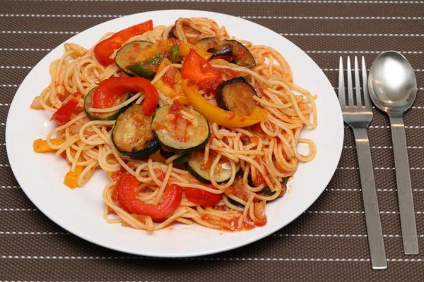 夏野菜のポモドーロ