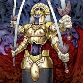 武道神の甲冑