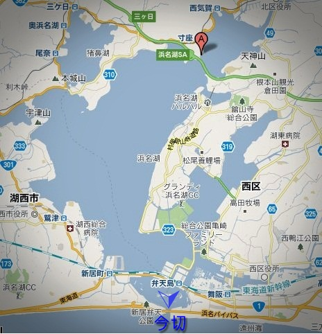浜名湖地図