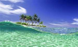 綺麗な海1