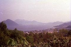 中山峠から洞爺湖