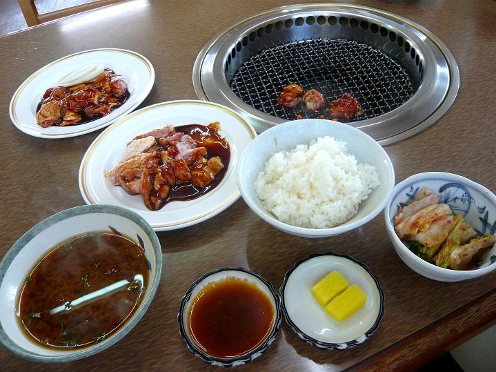 藤ケ丘鶏焼肉1