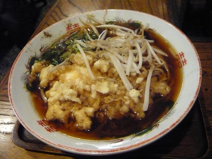 天ぷら中華1