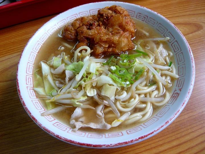 本町筋食堂天ぷら中華2