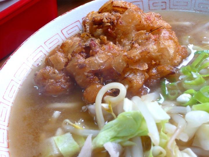 本町筋食堂天ぷら中華3
