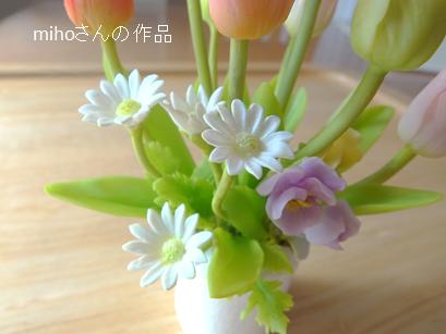チューリップの鉢植え⑤