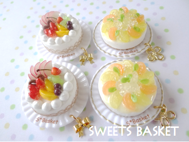 完成品ケーキのマグネット2種1204