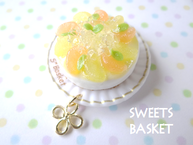 完成<br />品グレープフルーツのムースケーキのマグネット1204