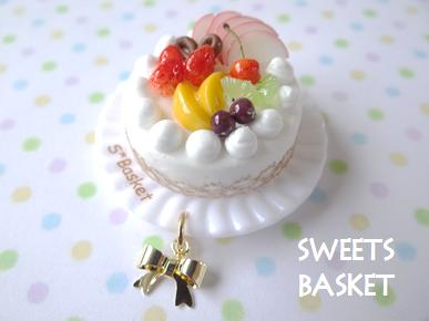 完成品フルーツケーキのマグネット1204