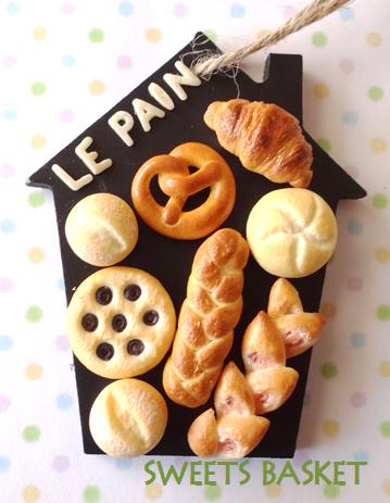 完成品*世界のパンの壁掛け③2点1205
