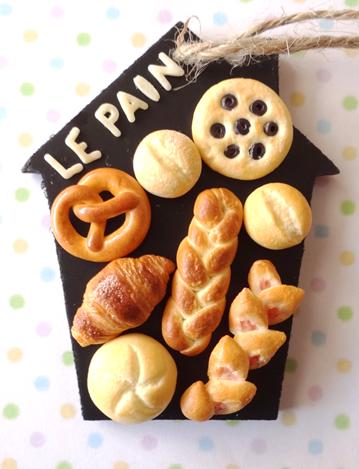 完成品*世界のパンの壁掛け2点1205