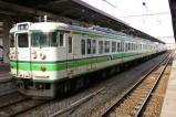 越後線 越後曽根行き [124M] 115系 @ 新潟駅