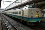 特急いなほ 1号 485系(新潟色)  T14編成