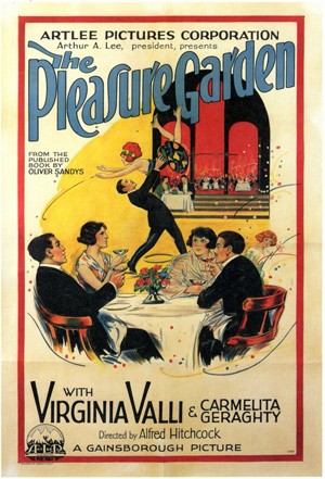 1925 The Pleasure Garden-s