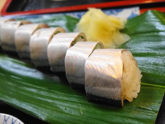 さんま寿司 拡大